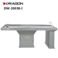 DW-2003B-I Nouvelle table de dissection médico-légale stablement médicale d'acier inoxydable de conception