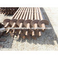 Hot Dip Galvanized Ground Round Shaft Helical Piers