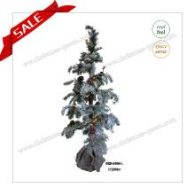 120cm Árvore de decoração de Natal Lifelike Árvore de Natal LED com luz LED