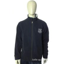 Outdoor Windproof Custom Sports Plain Man Polar Fleece Jacket