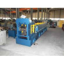 Manufacturer colored steel ridge cap roll former making machine