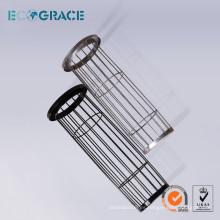 Jaulas de filtro de acero inoxidable / jaulas de colector de polvo