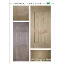 Moulded Oak Veneer Door Skin