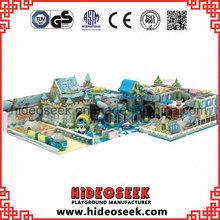 Ice Snow Theme Naughty Castle Indoor Playground