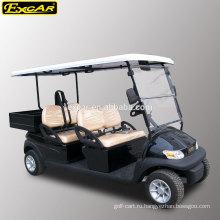 4 мест электрический гольф-грузовая тележка