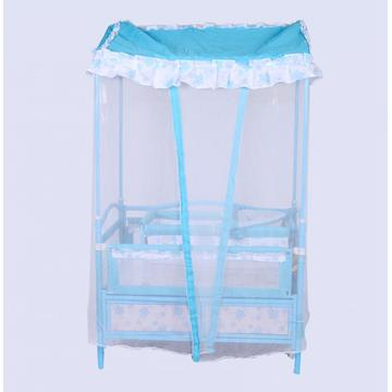 Baby Bed with Mosquito- Net and Cradle