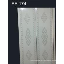 Hochglanz-PVC-Wandplatte