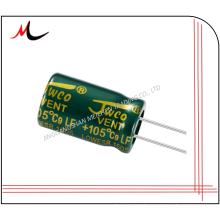 capacitor eletrolítico de alumínio 33uf 16v lowesr