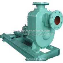 Four Wheels Manual Control Centrifugal Diesel Self Prime Pump