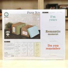 DIY Corrugated Paper Box Kit de armazenamento