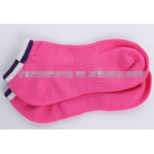 lady lovely pink socks for winter pink full terry sport socks