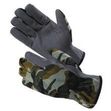 Gants militaires camouflage avec cuir synthétique ZM355-H
