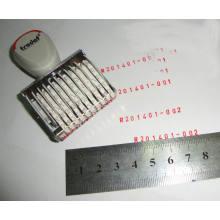 Mini sello de tiempo auto-entintado automático personalizado de la marca de tiempo