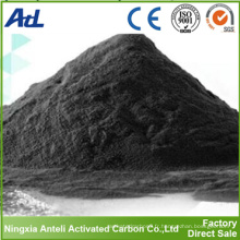 charbon actif pour la décoloration du jus