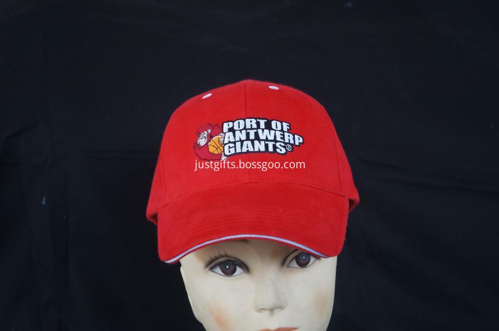 100% Acrylic Custom Logo Constructed Cap (3)