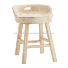 Natural Solid wood Multipurpose Stool