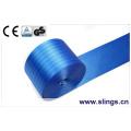 Cabestrante de cinta de elevación de poliéster reforzado con certificación GS Ce GS