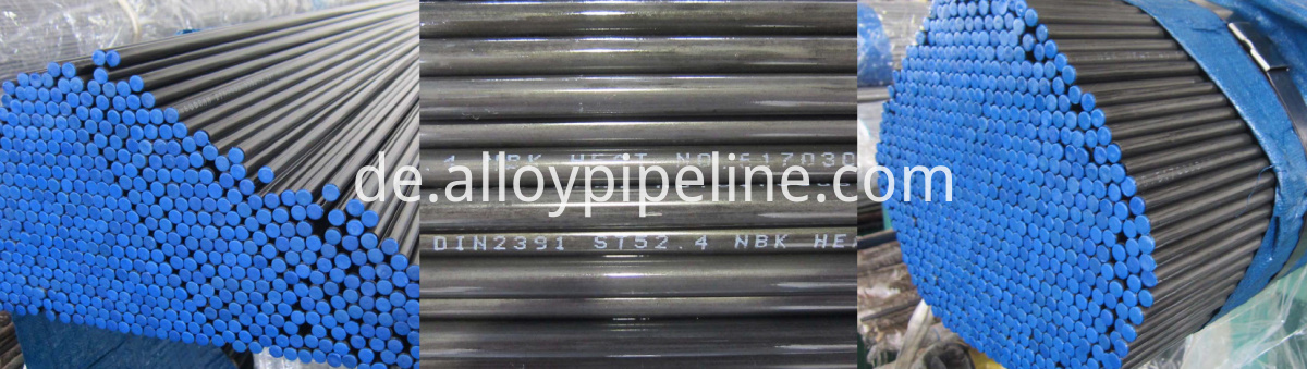 Hydraulic Precision Cold Draw Seamless Tube DIN2391 ST52.4 and St37.4