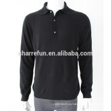 estilo básico al por mayor 12gg suéteres de cachemira pura de punto tejidos hombres