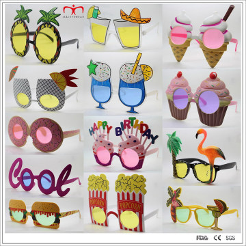 Óculos de sol coloridos e abundantes do partido do projeto (PTS)