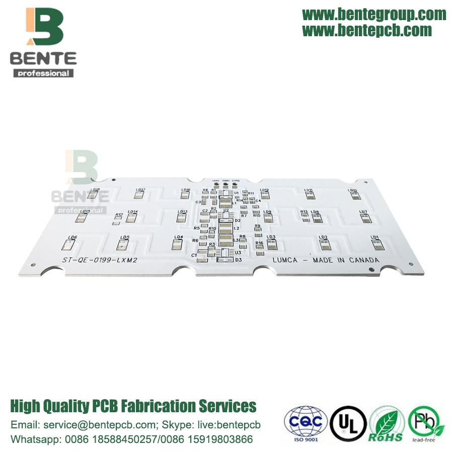 China Aluminum Pcb Hasl Lead Free 1 Layer Base Multilayer Manufacturer Ul Rohs Ourpcb