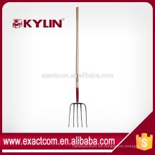 tenedor forjado de acero de estiércol