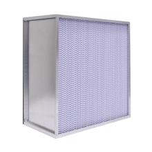 Filtro de aire de alta eficacia con partición