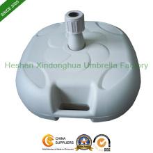 Base d'eau en plastique pour extérieur parasol (PB-E)