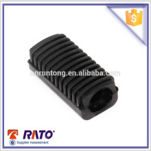 Price discount motorcycle black rubber mat footrest for LF