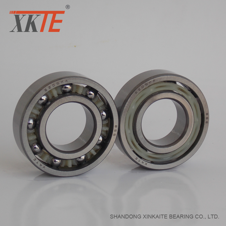 Rubber+Sealed+Polyamide+Cage+Bearing+6205+C3+RS%2F2RS