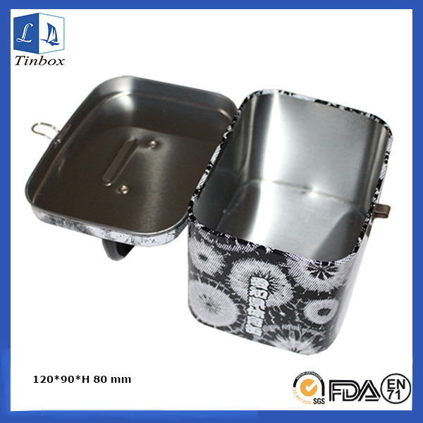 Mini Tin Lunch Box With Handle