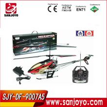 9007A5 gyro metal 3.5-channel rc helicóptero w / peso ligero