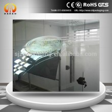 Nano caoting transparent /White color self adhesive rear projection screen film
