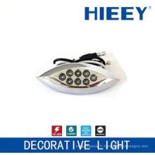 Lampadaire côté LED lampe lampe lampe décorative lampe plaque de signalisation avec LED blanche