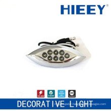 LED side marker lamp plating lamp decorative light license plate light with white LED