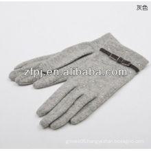 women wool polishing glove no lined