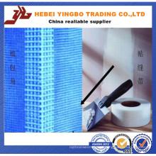 Malha pegajosa da fibra de vidro da placa do cimento / malha pegajosa da fibra de vidro resistente alcalóide