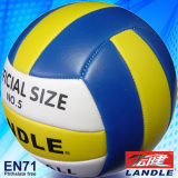 Foam PVC leather machine stitiched soft touch volleyball