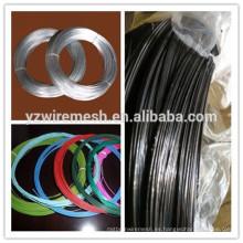 Alibaba seleccionó alambre galvanizado de la fábrica del alambre del hierro / alambre recocido negro / alambre revestido del pvc