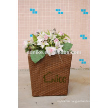 cheap wicker flowerpot Vase