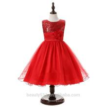 Vestido de novia exclusivo para niños y vestido de fiesta transpirable ED562