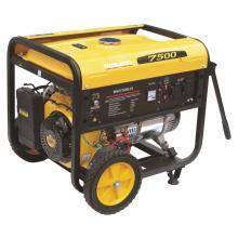 5kw / 6kw / 6.5kw CE Electric / Recoil Start Gasoline Generator (WH7500-H) para uso en el hogar