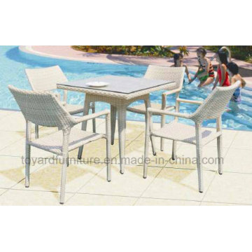 Outdoor Rattan Wicker Table and Chair (D519; S219)