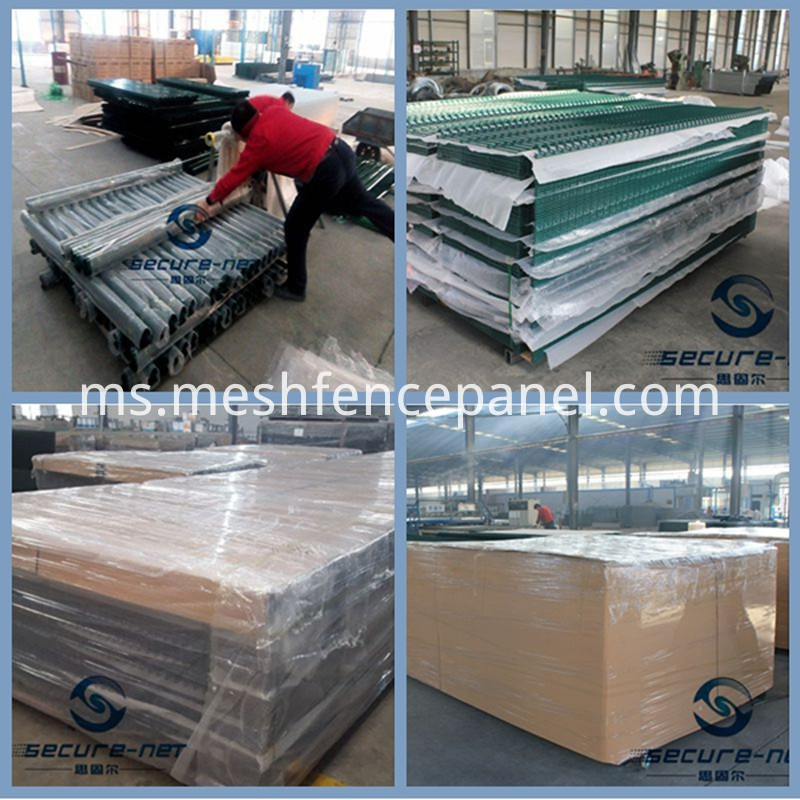 wire mesh fence packing