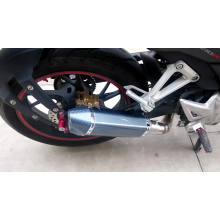 Große Verschiebung 100cc 200cc Motorrad Auspuffrohr mit OEM Service Factory Supplier