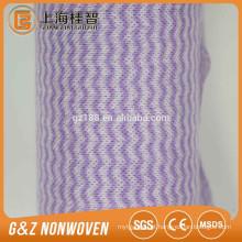 Amostras livres não tecidas coloridas do unilever da amostra livre do spunlace de Spunlace do poliéster da malha
