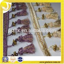 small custume clothing beaded tassel fringe in stock