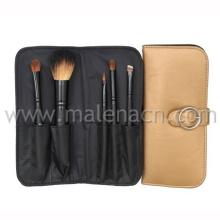 Natural Hair 5PCS Cosmetic Brush for Makeup