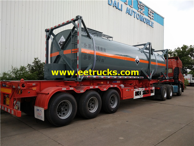 30000L Sodium Hypochlorite Tanker Containers