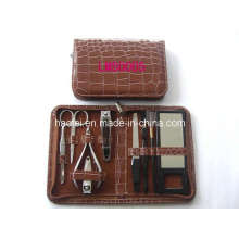 9PCS Manicure Kit in Leather Case (LMS0005)